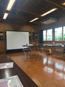 月経教室会場